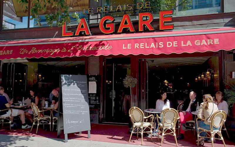 Välkommen till restaurang La Gare, Central Hotels franska bistro!