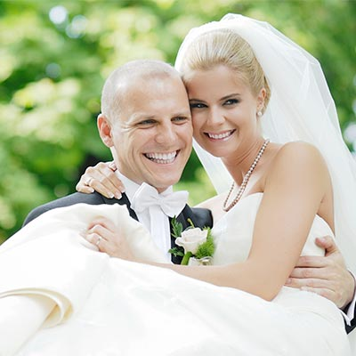 Bröllopsnatt i herrgårdsmiljö