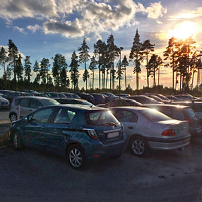 Hotel stay & long-term parking at Arlanda