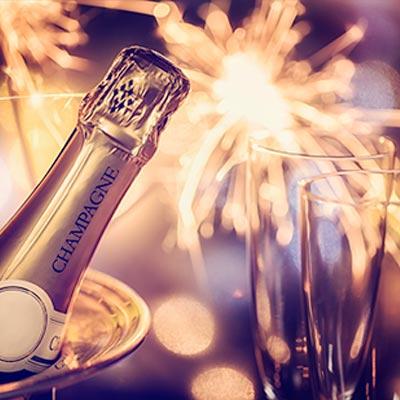 Fira in det nya året på Calmar Stadshotell