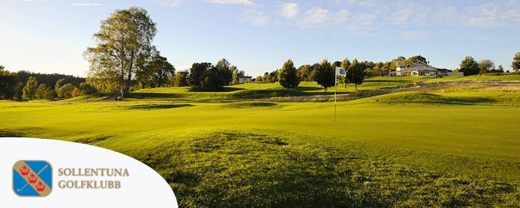 Spela golf på Sollentuna GK och bo i centrala Stockholm på Central Hotel.