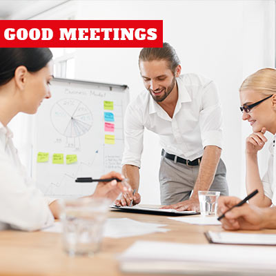 Halvdagsmöten med Good Meetings