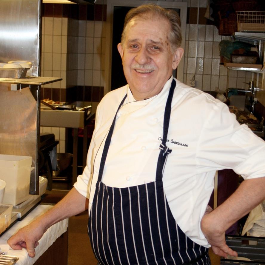 5-rätters meny skapad av kocken Crister Svantesson