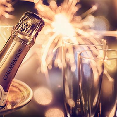 Nyårsfirande på Calmar Stadshotell