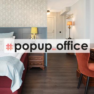 Popup office på Calmar Stadshotell