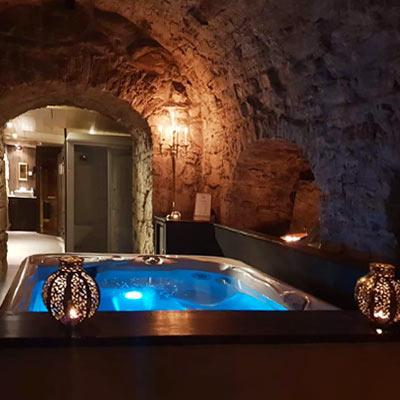 Hotellvistelse med privat spa och 3-rättersmiddag iKalmar