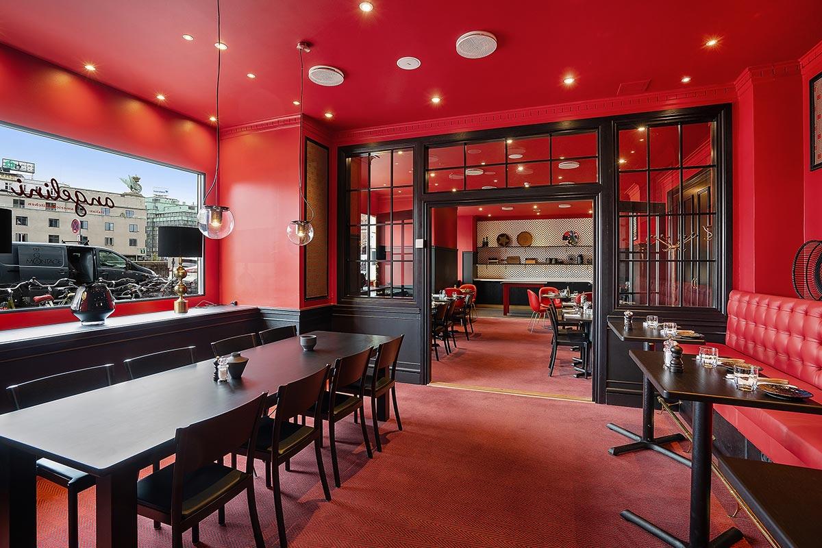 Images of restaurant Angelini in Copenhagen