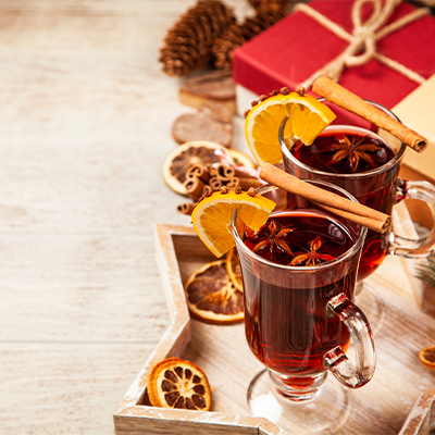 Mulled wine mingle at ProfilHotel Opera