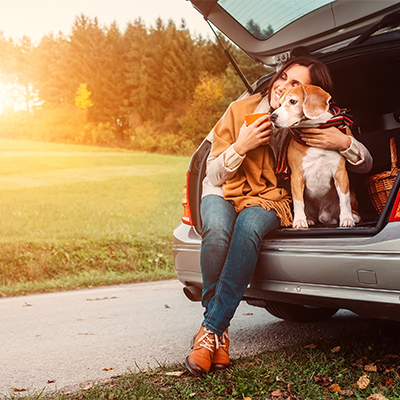Bring your dog and family on vacation!