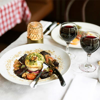 Kulinarisk natt på Hotel Garden och Restaurang La Gare
