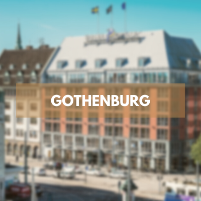 Book a relaxing weekend in Gothenburg